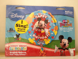 singing balloon wtb mickey mouse theme party decor for 1 year boy