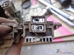 tacra u0027s diy garage alternator carbon brush replacement