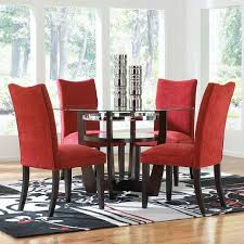 Fabric Chairs For Dining Room Dining Room Chairs Of Well Fabric Dining Room