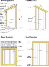 Diy Wooden Shed Plans by Completed 4x8 Lean Lean To Backyard Storage Shed With Barn Door