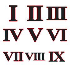 great roman numeral fonts 82 in home design modern with roman