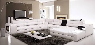 extra wide sectional sofa extra large leather sectional sofa with attached corner table modern