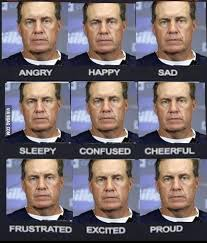 Bill Belichick Memes - bill belichick s emotional index was great patriots