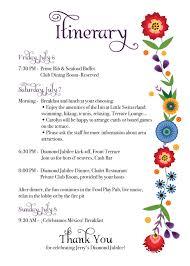 Dinner Party Agenda - rkdesigns february 2013