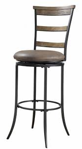 bar stools rounded black cast iron swivel bar stool with rustic