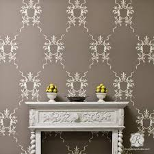Painting Stencils For Wall Art | wall art wall mural stencils for painting diy wall stencils