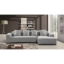 Modern Fabric Sectional Sofas Modern Fabric Sectional Sofa Lyon Free Shipping Today