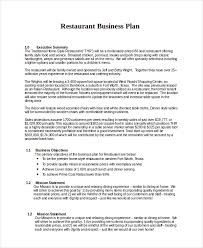 13 business plans free sample example format free u0026 premium