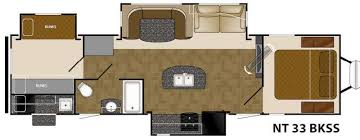 Rialta Motorhome Floor Plans New Travel Trailer 2017 Heartland North Trail 33bkss Bunkhouse