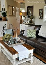 Neutral Sofa Decorating Ideas by The Endearing Home Family Room Via Savvy Southern Style Room