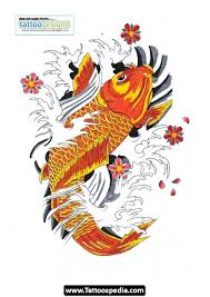 koi fish watercolor tattoo for men photos pictures and sketches