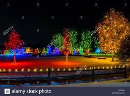 hudson gardens christmas lights christmas show stock photos christmas show stock images alamy