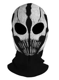 Call Duty Black Ops 2 Halloween Costumes Shop Ghost Mask Skull Extinction Face Mask Cosplay