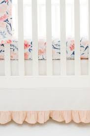 Floral Crib Bedding Sets Floral Nursery Set Rosewater In Crib Collection Crib