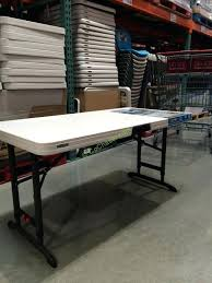 8 foot lifetime table lifetime tables costco nice folding table lifetime 8 ft folding