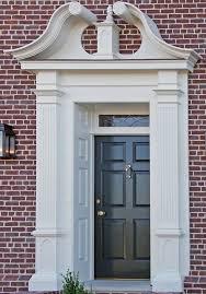 Exterior Door Pediment And Pilasters by Vinyl Door Pilasters U0026 Trim Solutions Projects Garage Door