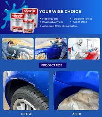 customizable auto coatings 1k car paint with color sheet buy