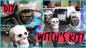 easy diy witch u0027s kit halloween decoration youtube