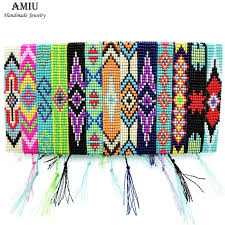 beads friendship bracelet images Amiu handmade seed beads friendship bracelet beaded custom mix jpg