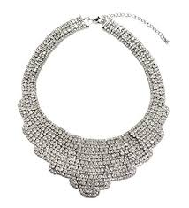 necklace rhinestone images Statement rhinestone bib necklace jewelry jpg