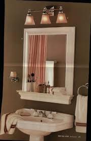 bathroom mirror with shelf home design ideas interior amazing