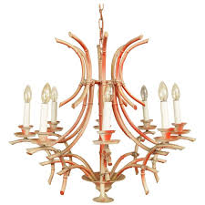 Italian Style Chandeliers Vintage Italian Faux Bamboo Chinese Chippendale Style Pagoda