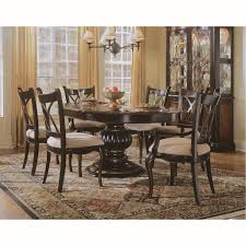 hooker furniture 864 75 201 preston ridge pedestal dining table in