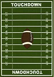 Football Field Area Rug Universal Football 7x9 New Sports Football Field