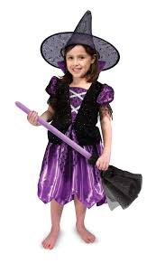 witch from room on the broom costume melissa u0026 doug witch role play costume set black purple amazon