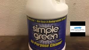 Simple Green Fresh Scent Cleaner And Degreaser Youtube