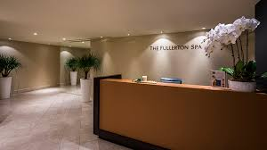 Spa Reception Desk The Fullerton Spa Singapore Spas Singapore Sg Forbes Travel