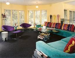 1950s color scheme blue desert interiors 1950s fun