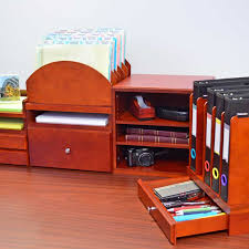 Ultimate Desk Organizer Woodworx Desk Organizer Media Drawer Ultimate Office 10 Pocket