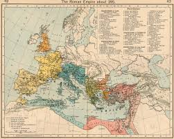 Holy Roman Empire Map Ancient Map Of The Western Roman Empire