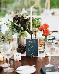 rustic table setting ideas wedding table number ideas that scored at real celebrations rustic