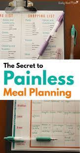 thanksgiving meal planning best 25 meal planning printable ideas on pinterest free