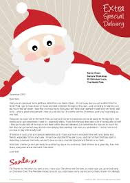 santa letters what do our santa letters look like from santa