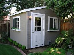 Sheds For Backyard Tuff Shed Down To Business With This Backyard Office Potting
