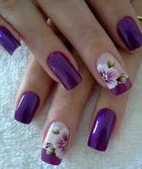 50 purple nail design ideas for 2018
