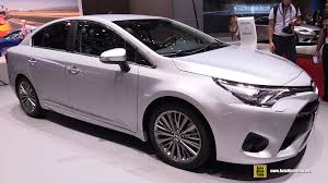toyota new car 2015 2016 toyota avensis diesel exterior and interior walkaround