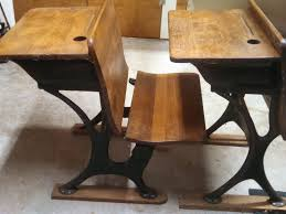 Kid School Desk Vintage School Desk With Chair Attached Computer Desk And Desk