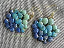 easy earrings easy glue gun earrings arts to crafts