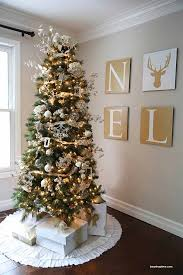 Gold And Brown Christmas Tree Decorations by 14 Magical Christmas Tree Colors And Ideas To Pull Off This Season
