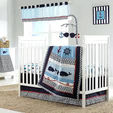 Surfer Crib Bedding Decoration Baby Crib Bedding Whale Of A Tale And