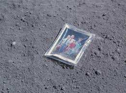 things that been left on the moon futurism