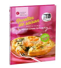 editeur livre cuisine livre recettes de saison monsieur cuisine lidl en pdf recette