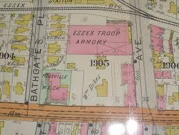 Map Of Newark Nj Old Maps