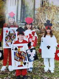 in cards costumes card costume