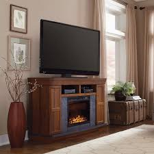 white entertainment center with electric fireplace entertainment
