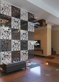 wall partition high quality new 6 pcs flower wallpaper wall sticker hanging
